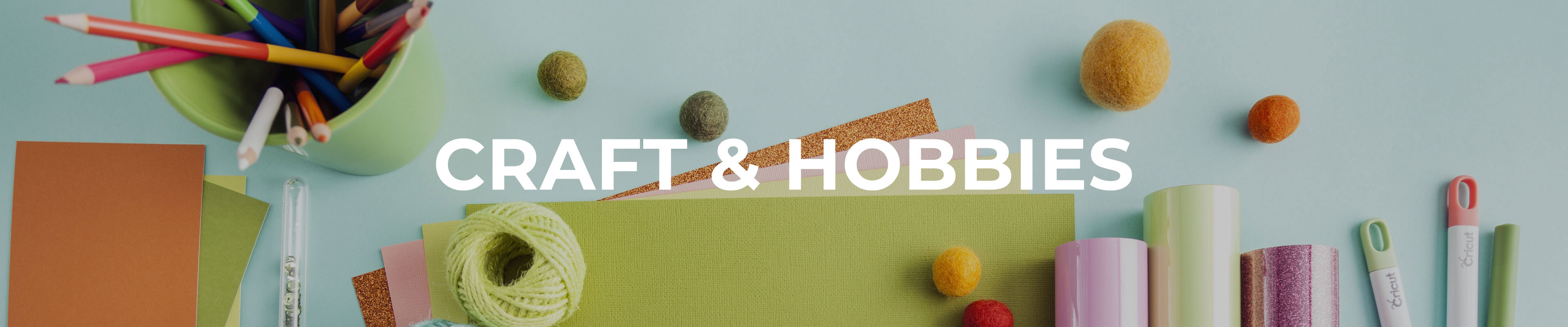 Shop Our Craft & Hobbies Range
