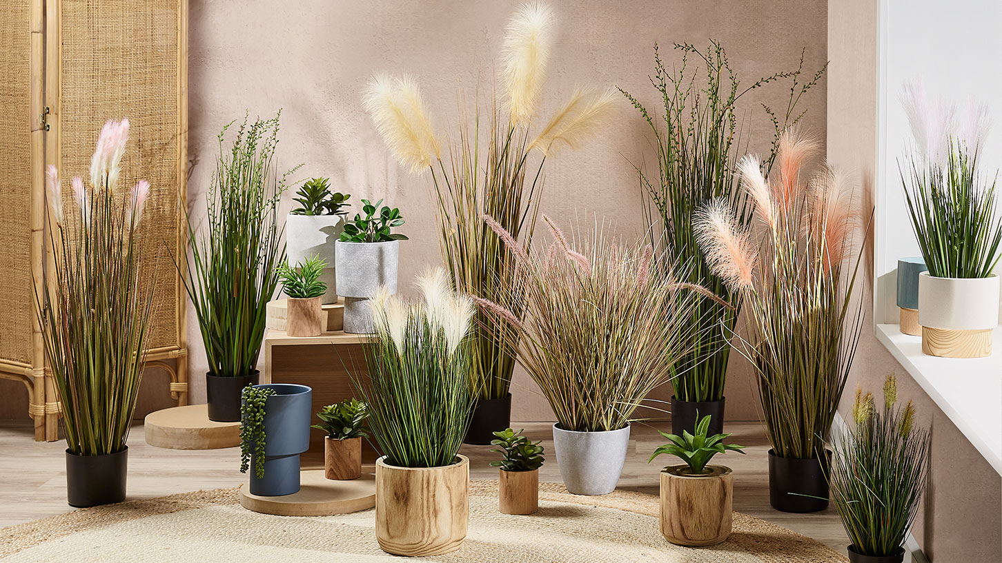 Artificial Plants & Pots