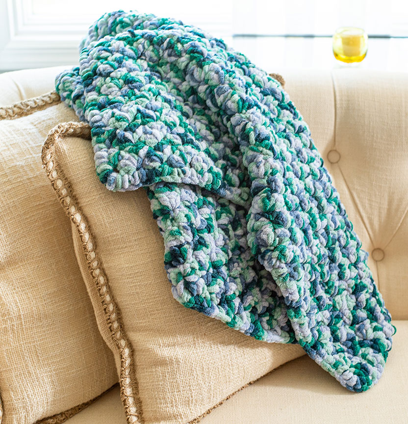Crochet Afghan Scarf Project