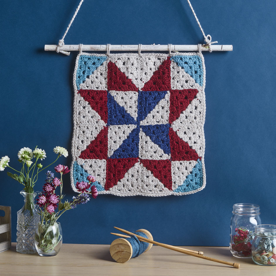 Crochet Wall Hanging Project