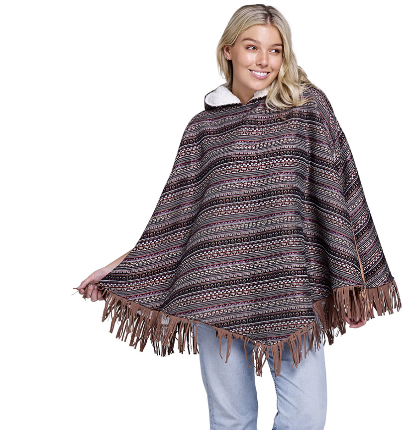 Cuddles Fleece Poncho Project