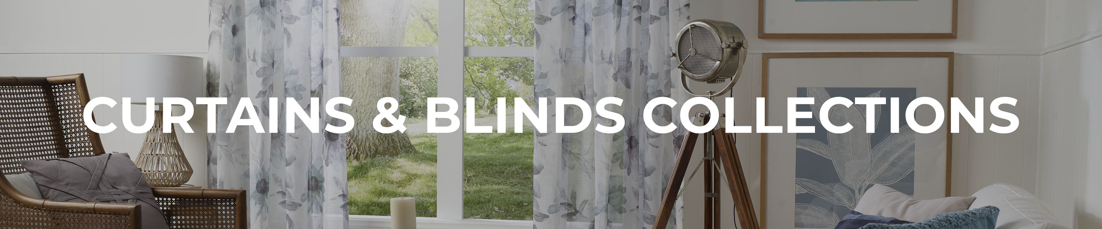 Shop Our Curtains & Blinds Collections