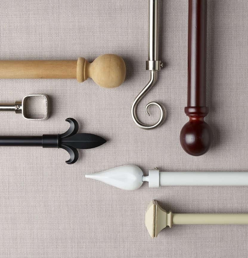 Shop Our Curtain Rods Range