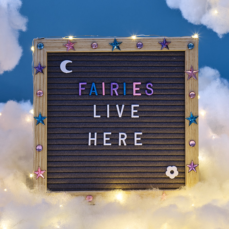 Customised Fairy Letter Board Project