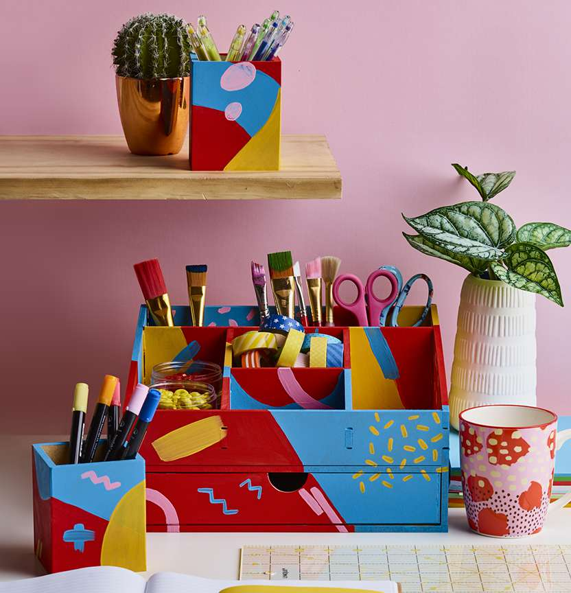 Deco Art Stationery Set Project