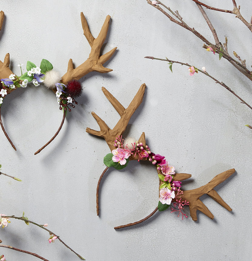 Deer Antler Headbands Project