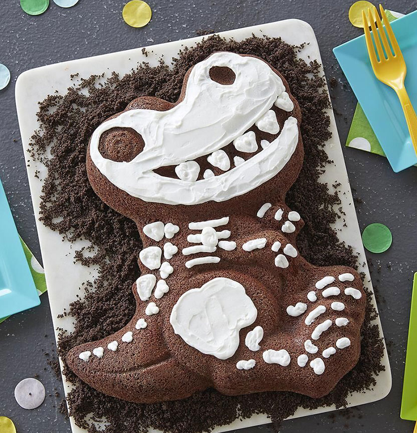 Dino Bone Brownies Cake Project
