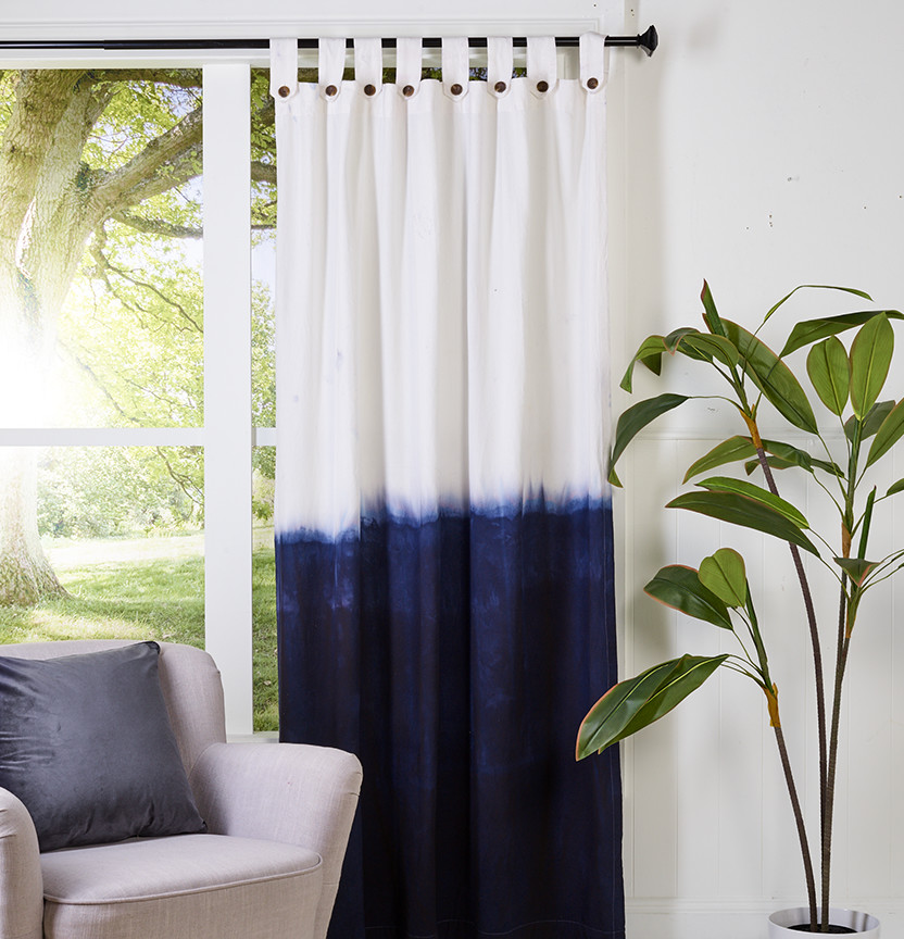 Dip Dyed Henry Curtain Project