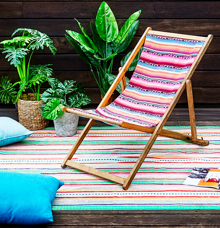 DIY Deck Chair & Rug Project