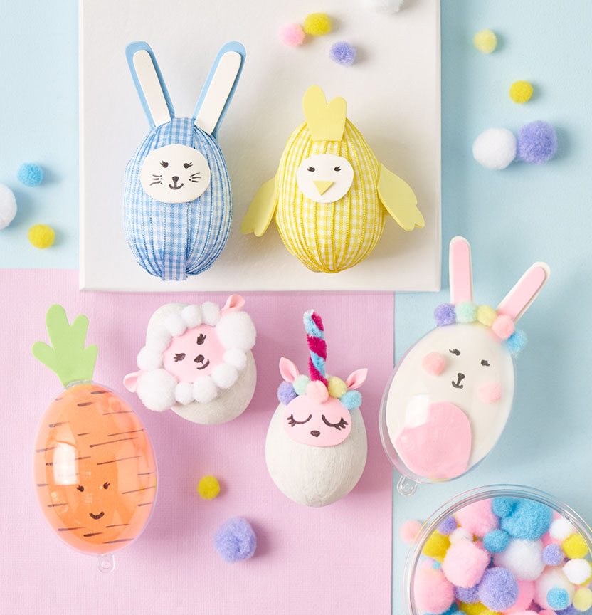 DIY Easter Eggs Project