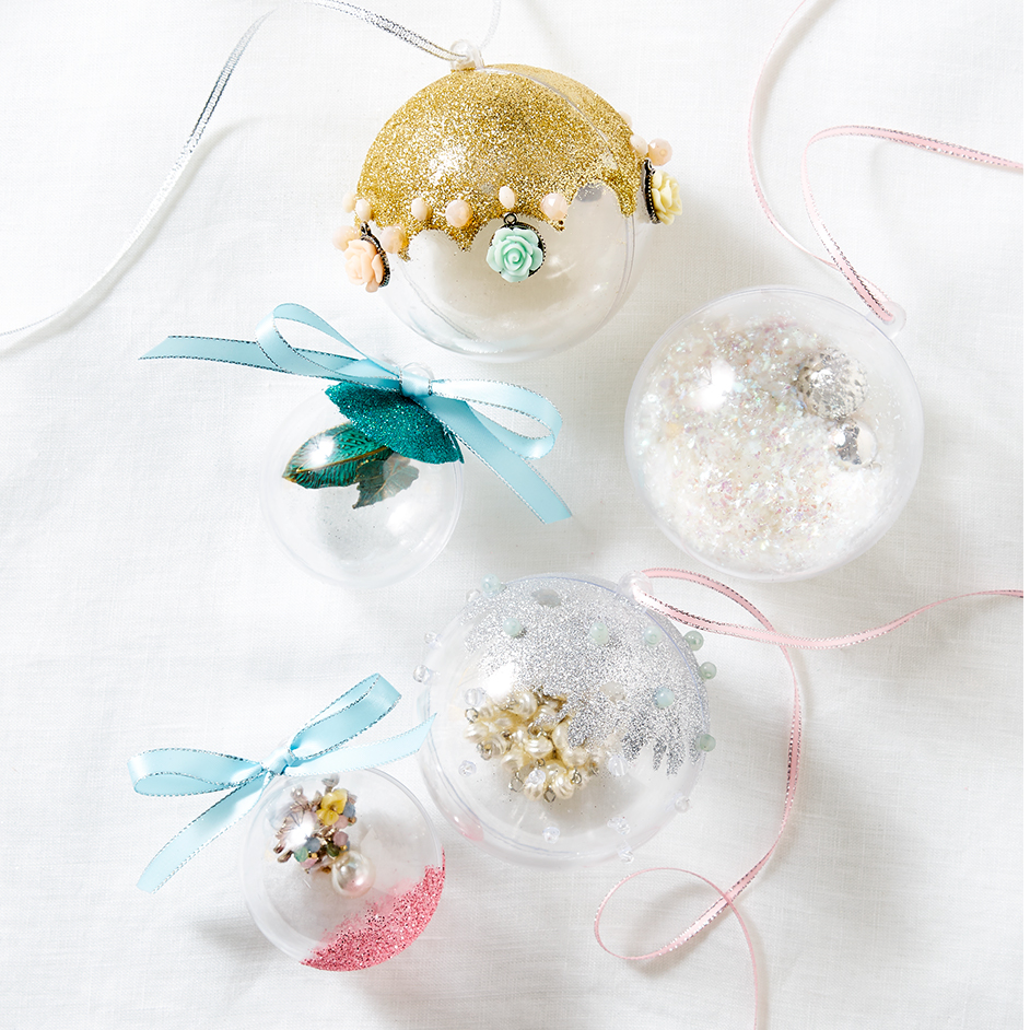 DIY Fillable Baubles Project