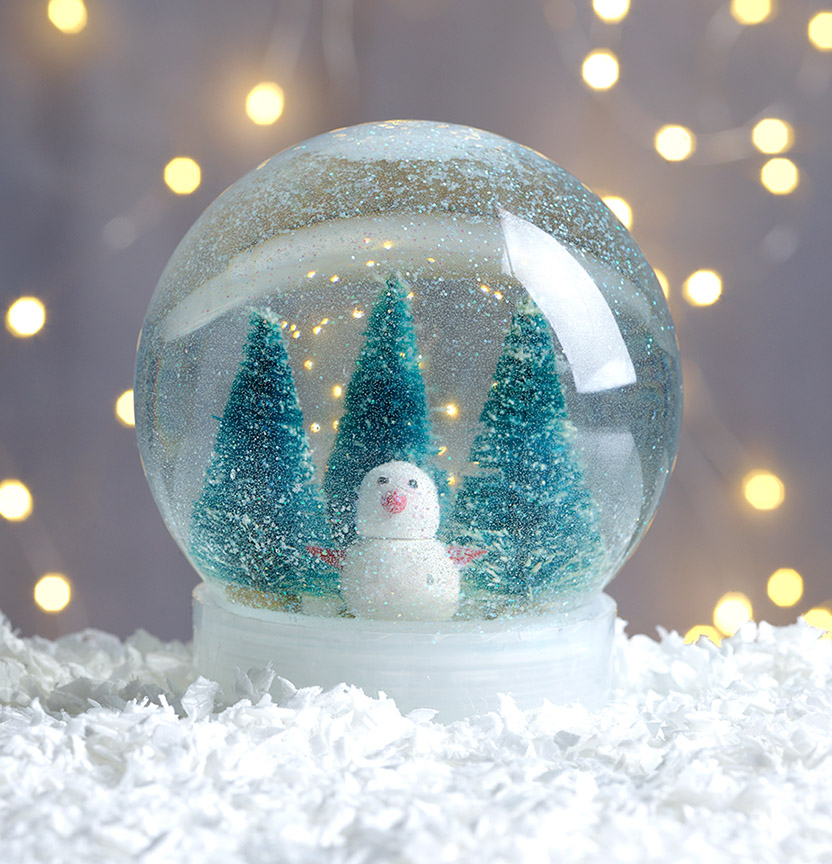DIY Snow Globe Project