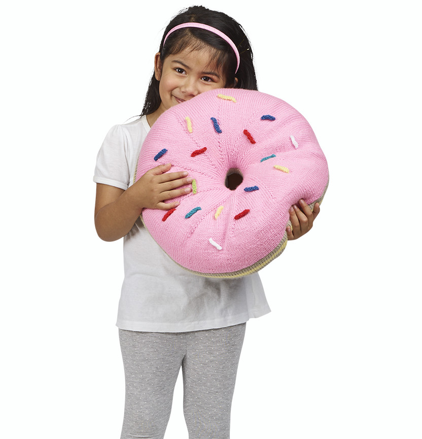 Donut Shape Cushion Project
