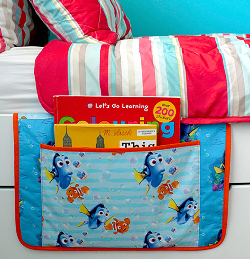 Dory Bedside Book Holder Project