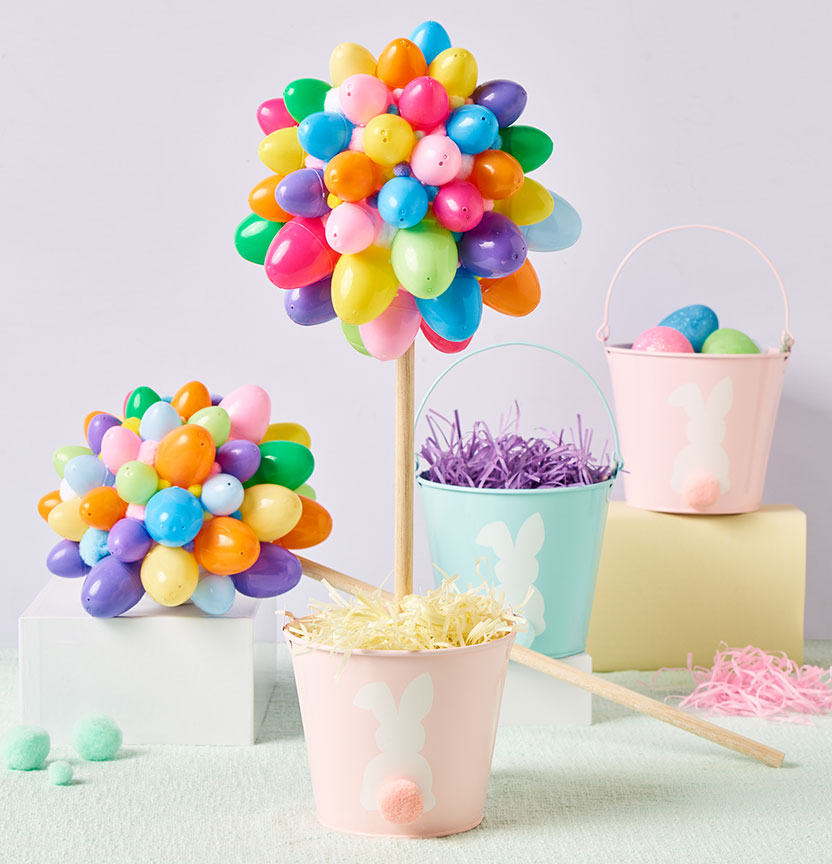 Easter Egg Trees Project