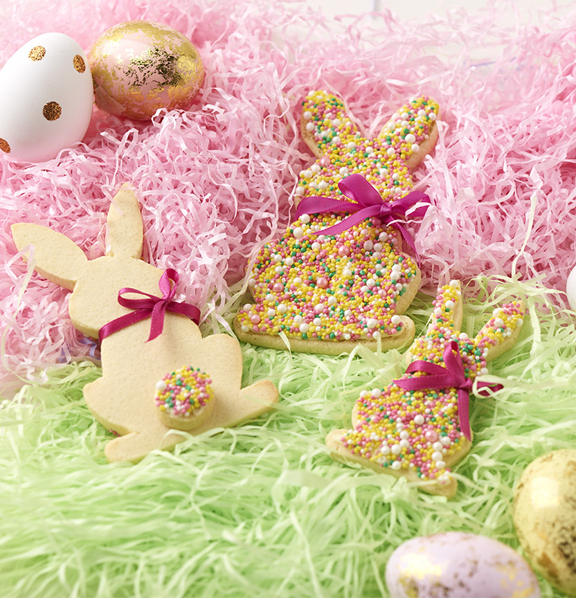 Easter Freckle Bunny Cookies Project
