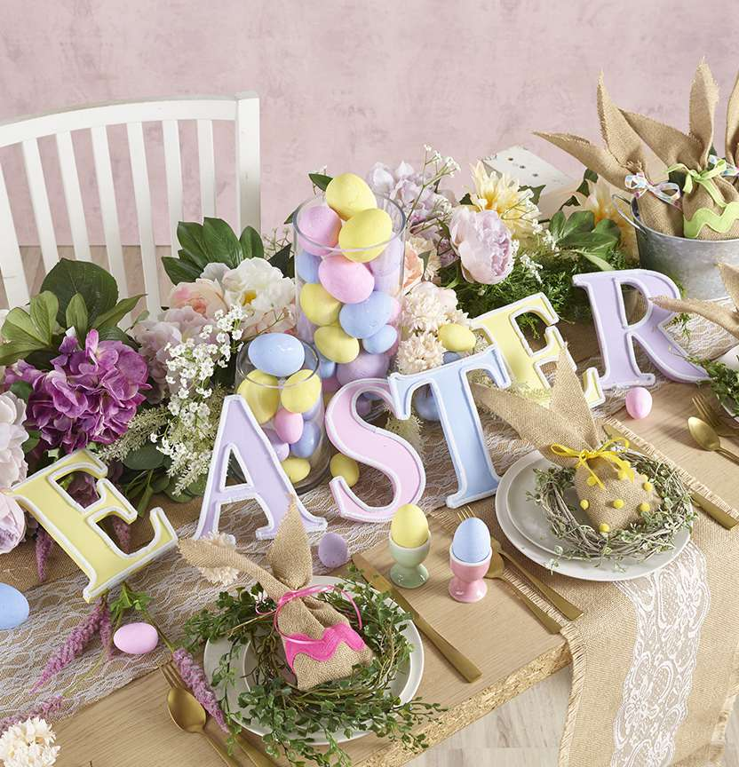 Easter Kaisercraft Letters Project