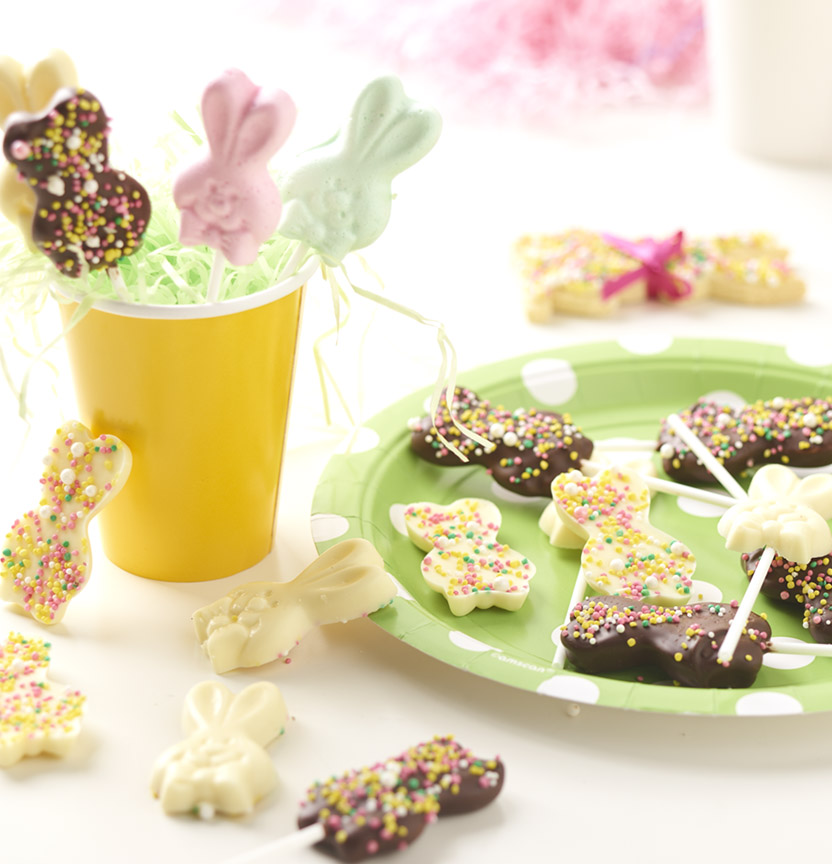 Easter Marshmallow Bunny Pops Project