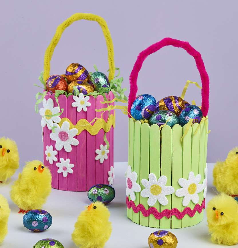 Easter Treat Baskets Project