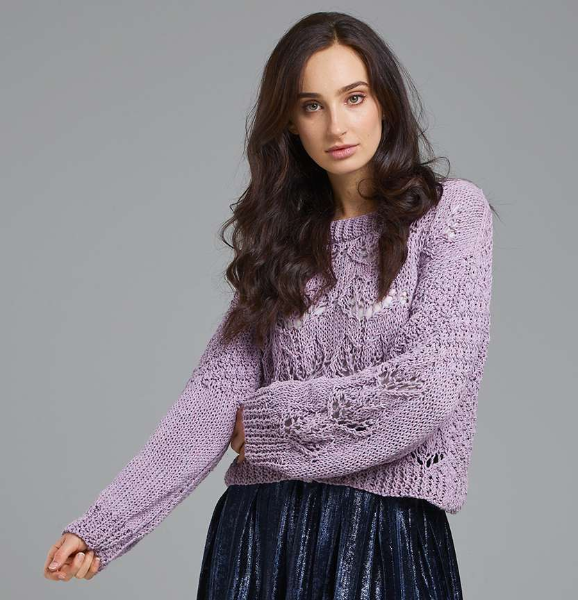 Eco Cotton XL Cable Beach Jumper Project