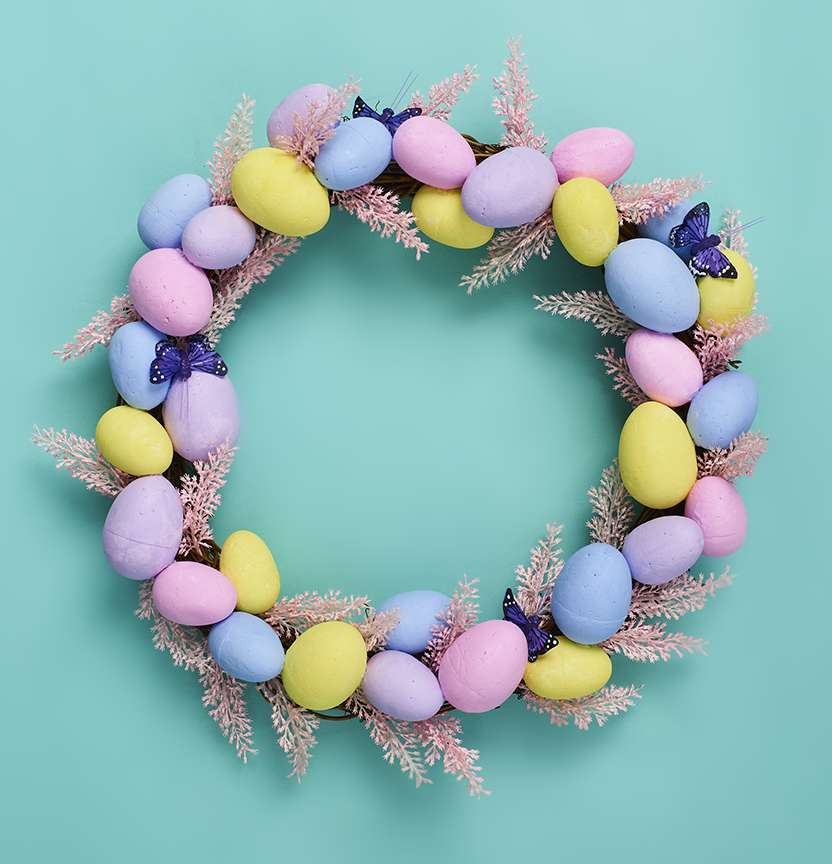 Egg Wreath Project