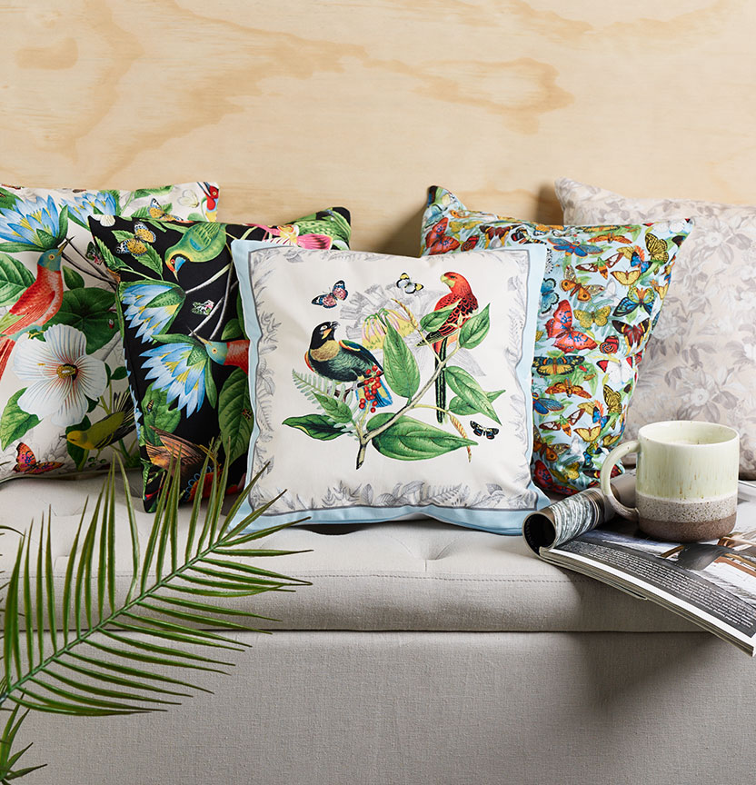 Elizabeth Studio Botanicals Cushions Project