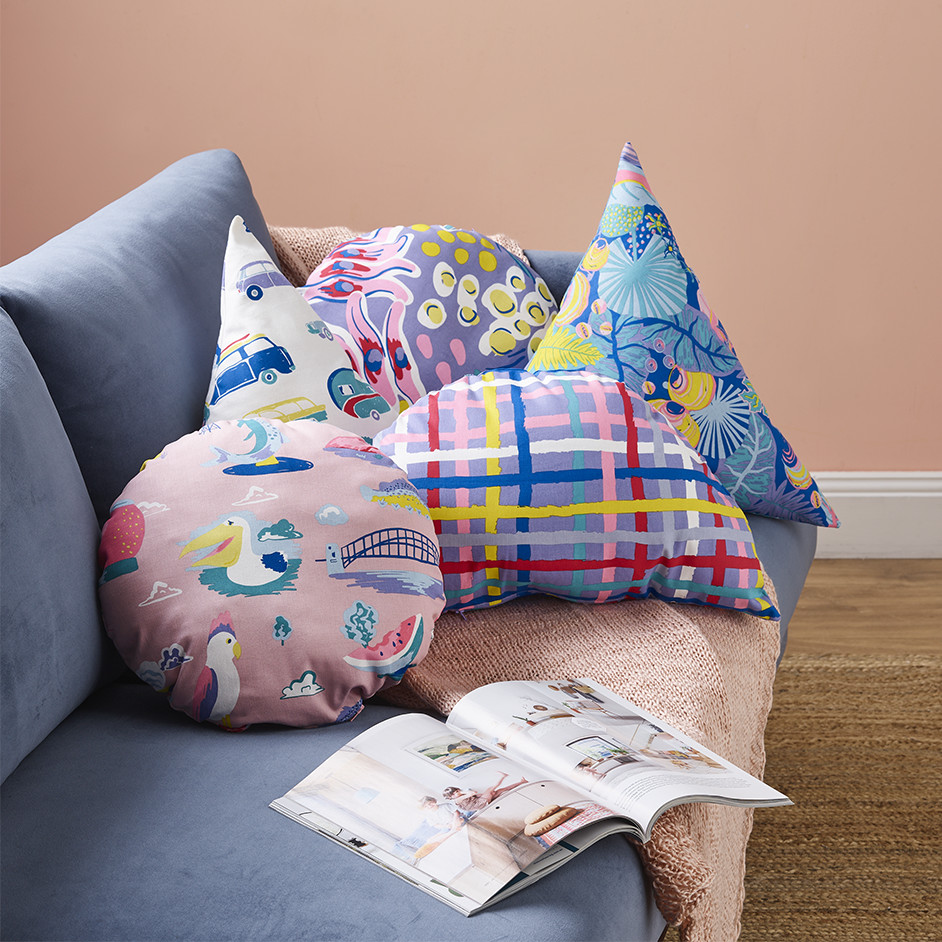 Ellie Whittaker Cushions Project
