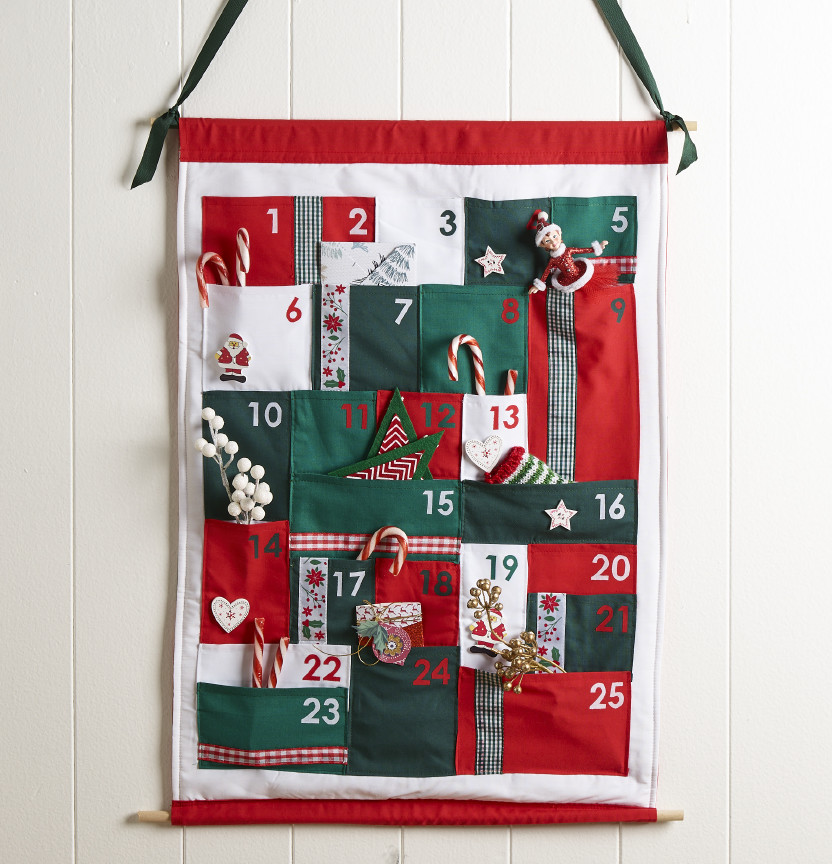 Fabric Advent Calendar Project