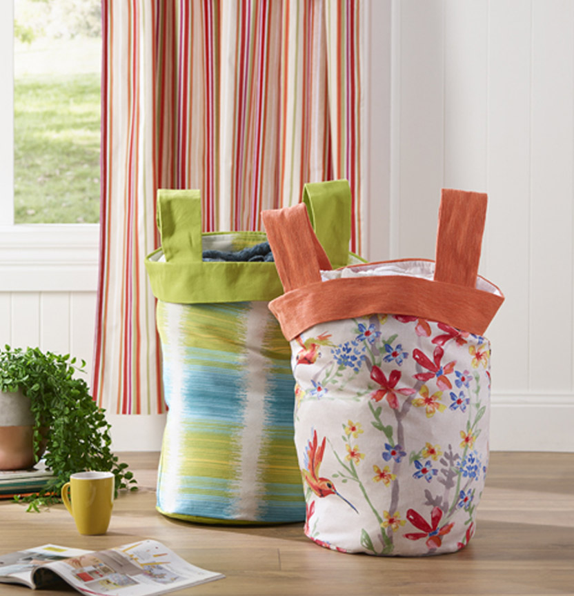 Fabric Buckets Project