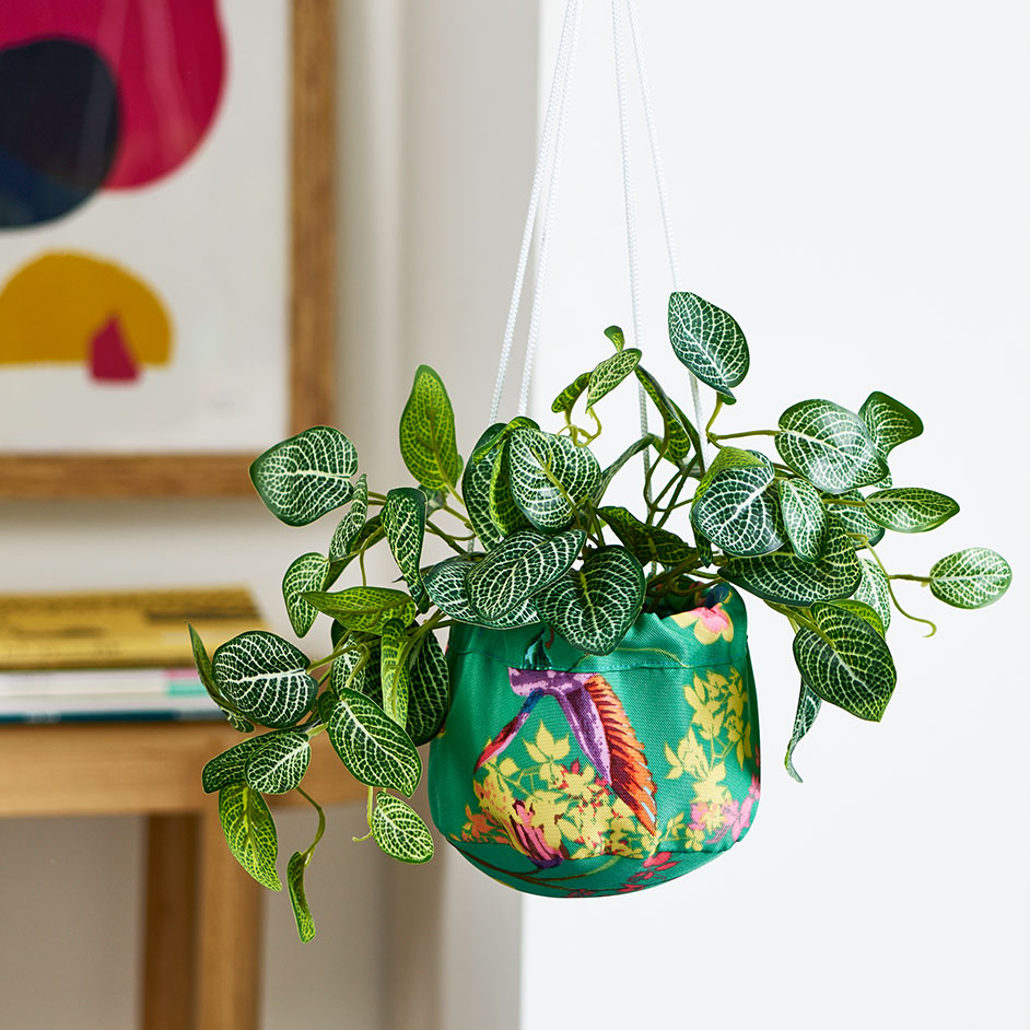 Fabric Plant Holders Project