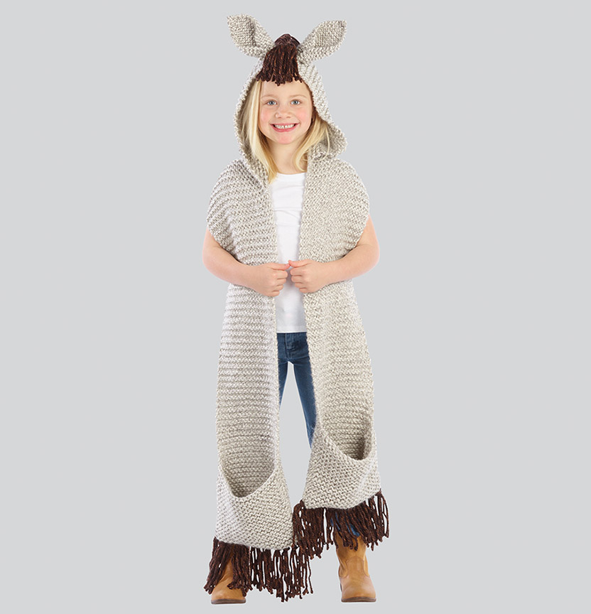 Fabulous Horse Hoodie Scarft Project