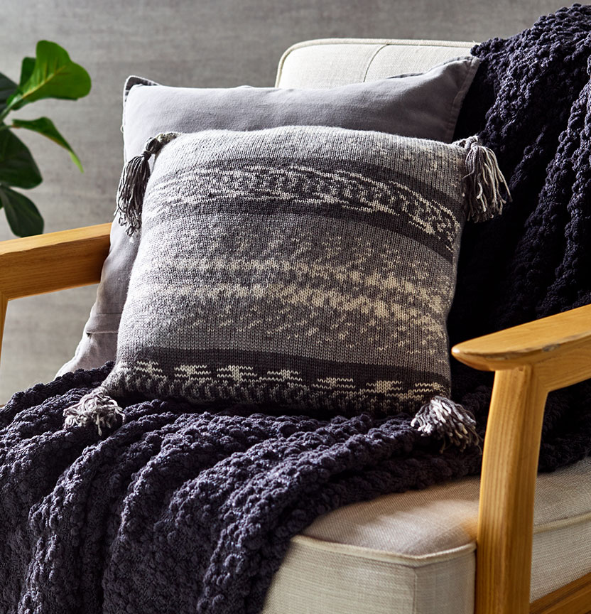 Fair Isle Cushion Cover Project