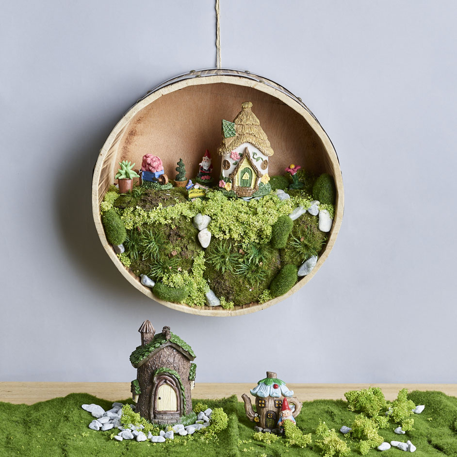 Fairy Village Barrel Project
