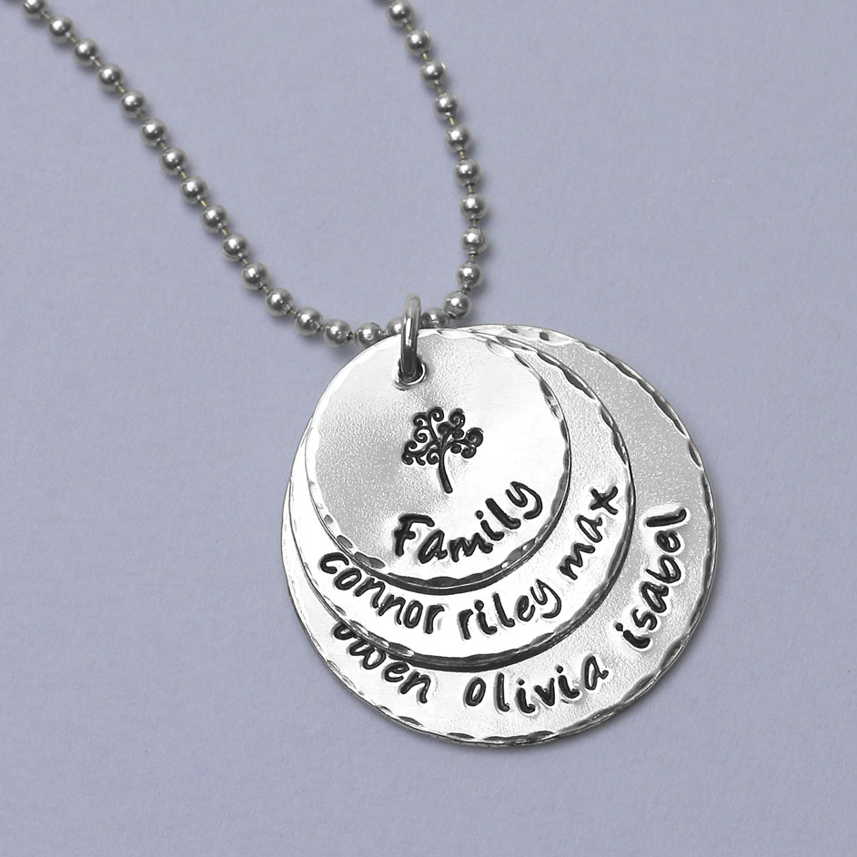 Family Tree Necklace Project