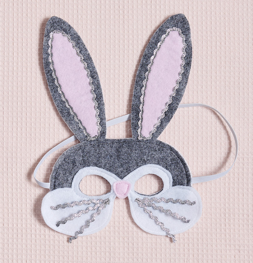 Felt Bunny Mask Project