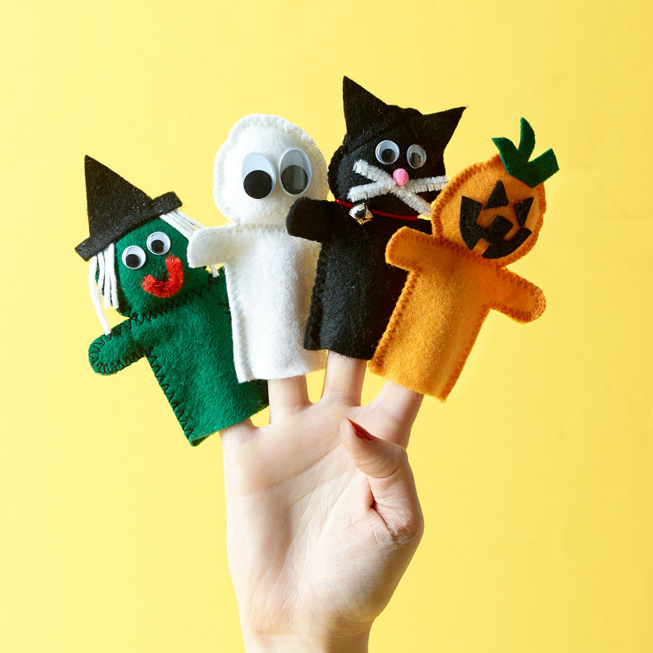 Felt Finger Puppets Project