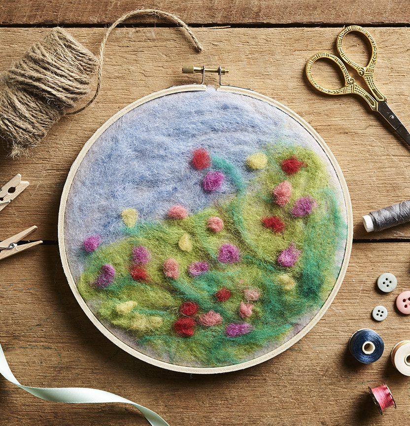 Felted Landscape Project