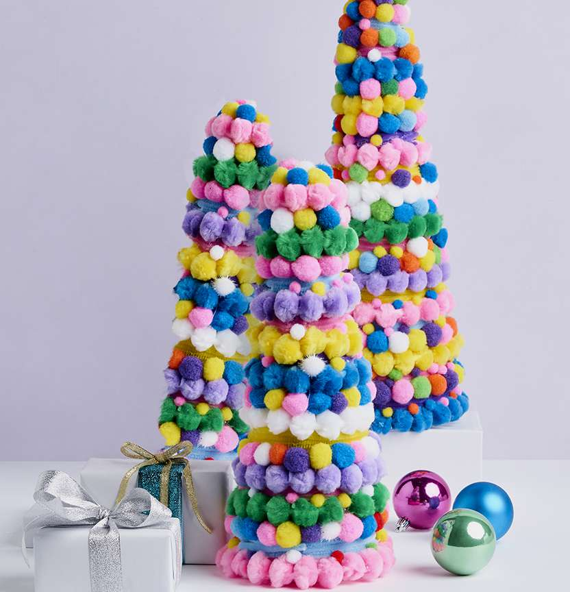 Festive Pop Trees Project