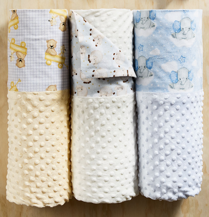 Flannelette and Minky Blankets Project