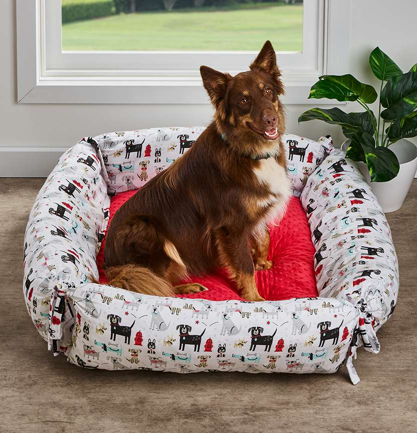 Flannelette Dog Bed Project