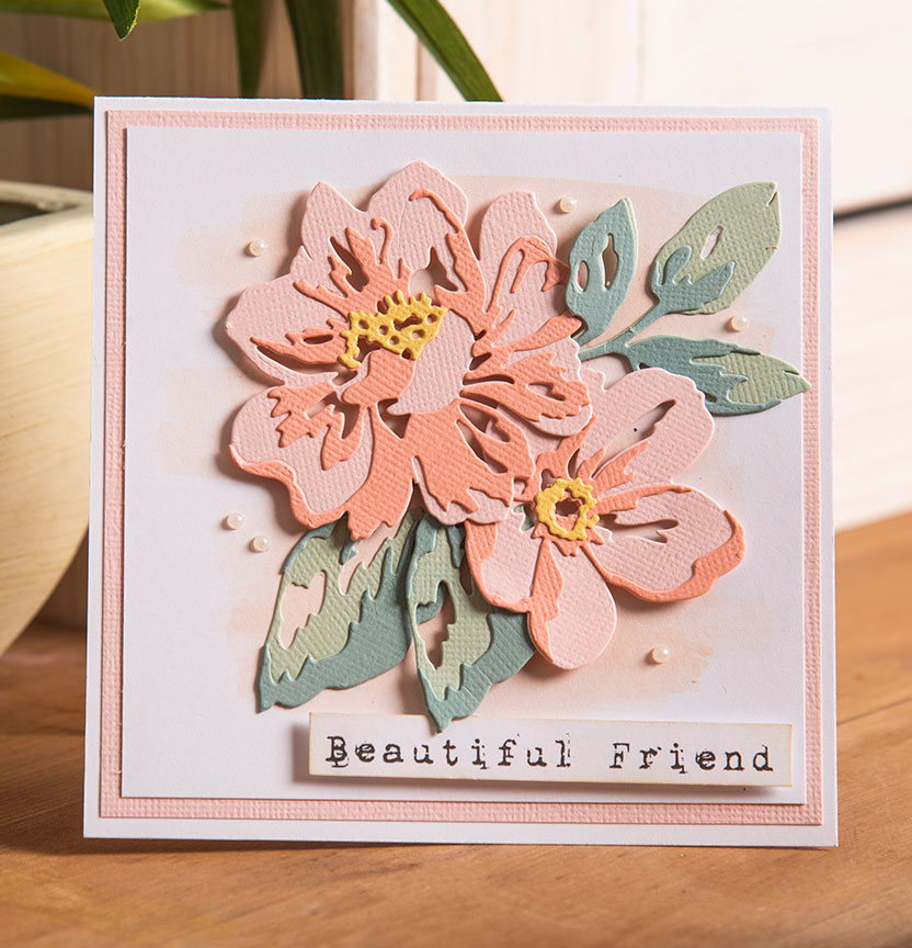 Floral Layers Card Project