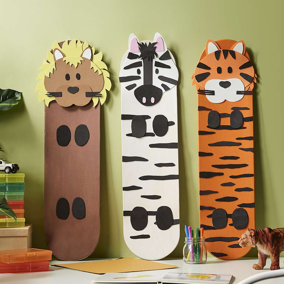 Foam Animal Skate Decks Project