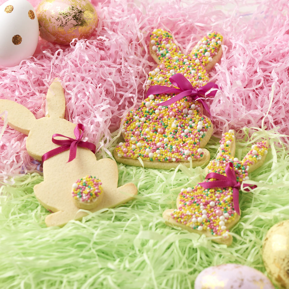 Freckle Bunny Amp Love Heart Easter Cookies Project