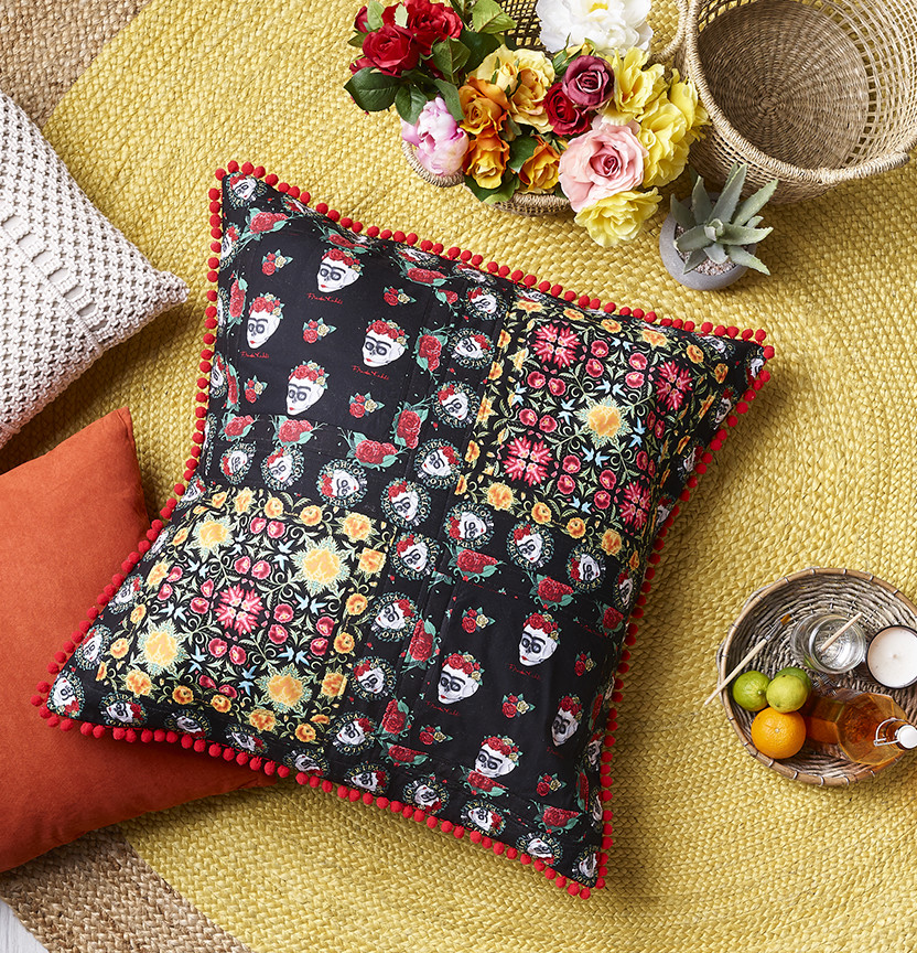 Frida Kahlo Cushion Project