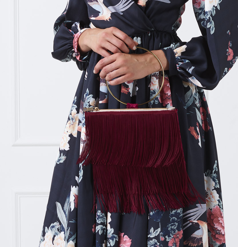 Fringe Clutch Project