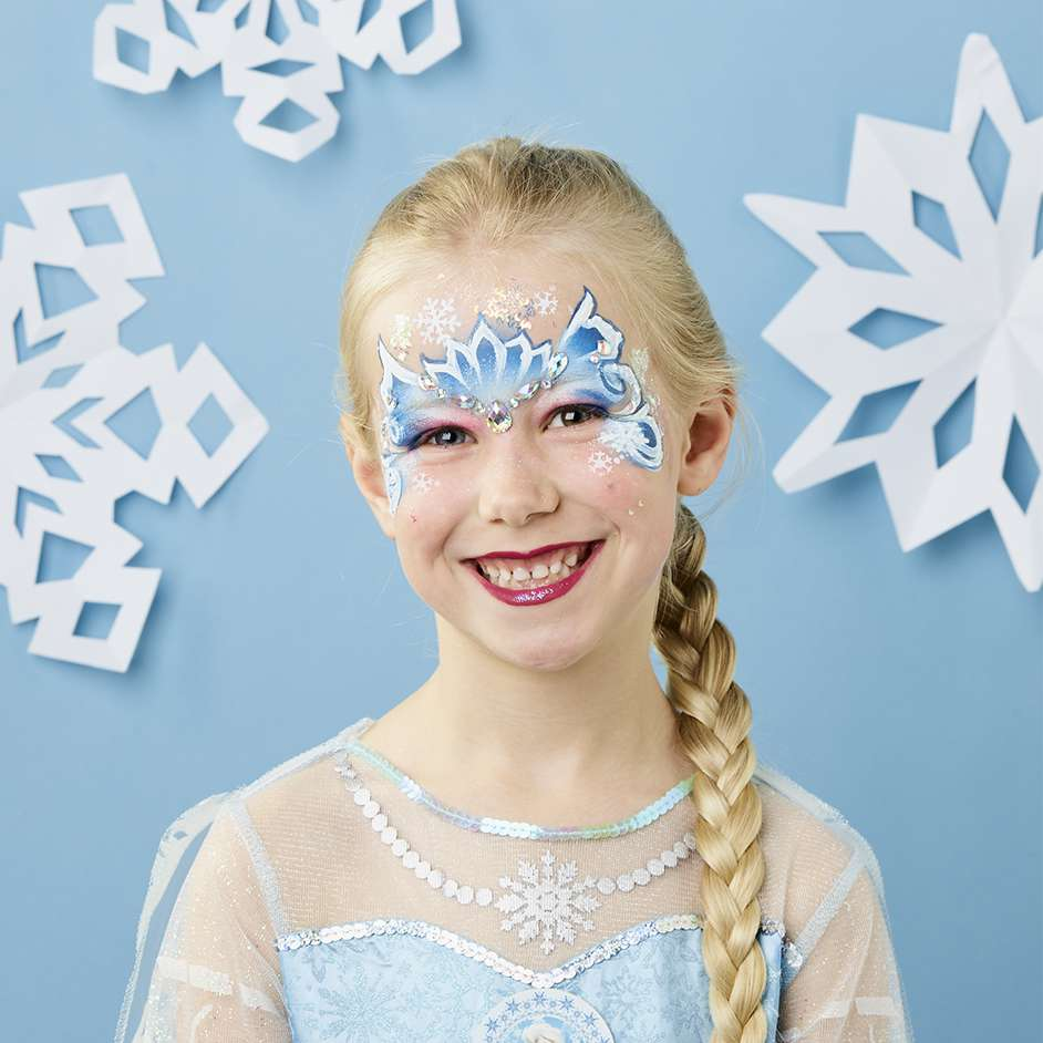 Frozen Face Paint Project