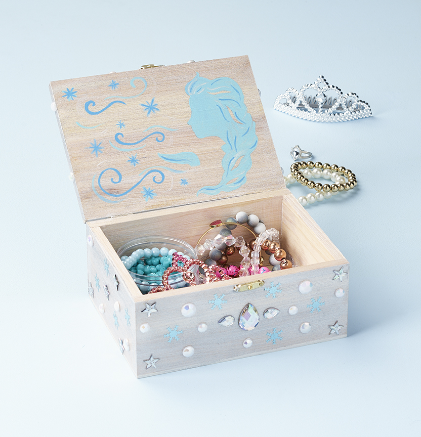 Frozen Jewellery Box Project