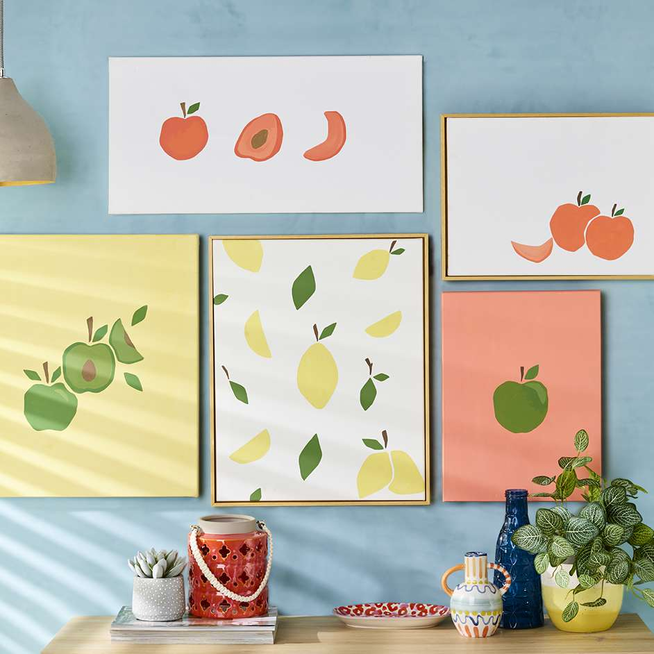 Fruit Wall Art Project