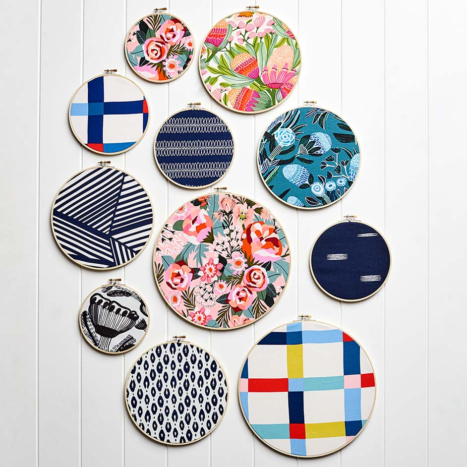Furnishings Embroidery Hoops Project