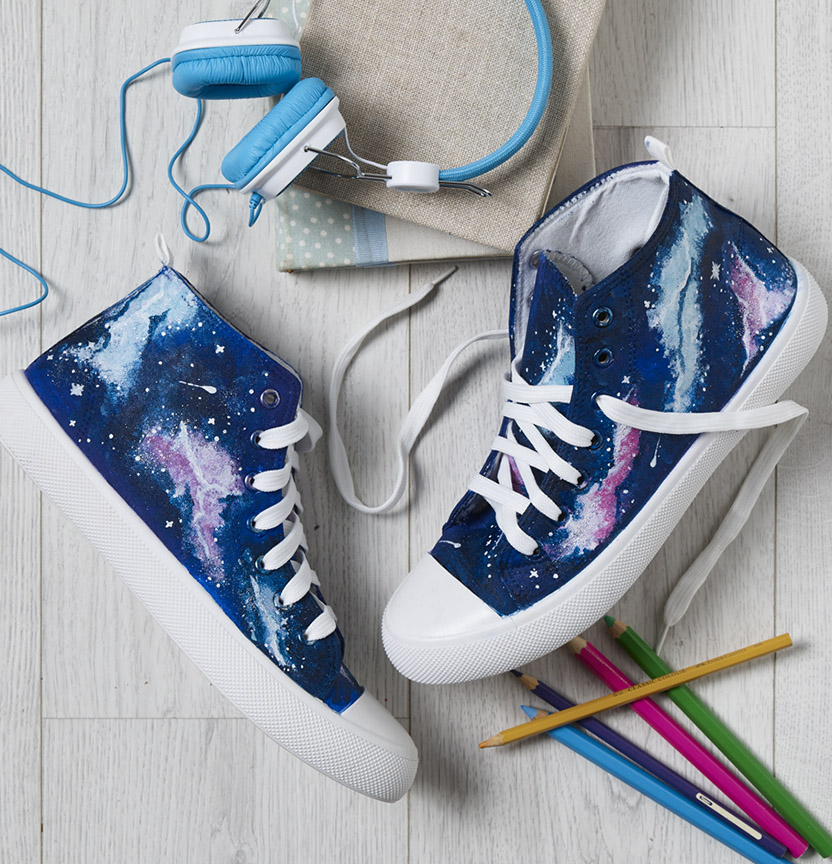 Galaxy Shoes Project